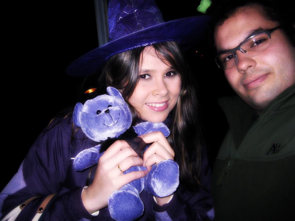 eu e cá no halloween